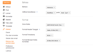 Cara Menampilkan Tab Earning Blogspot