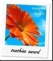 Pondokgue dapet Sunshine Award dari Sahabat