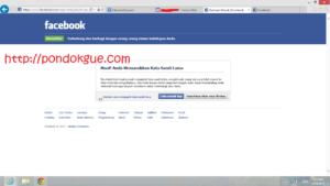 Cara Baru Mengatasi Facebook yang di Hack
