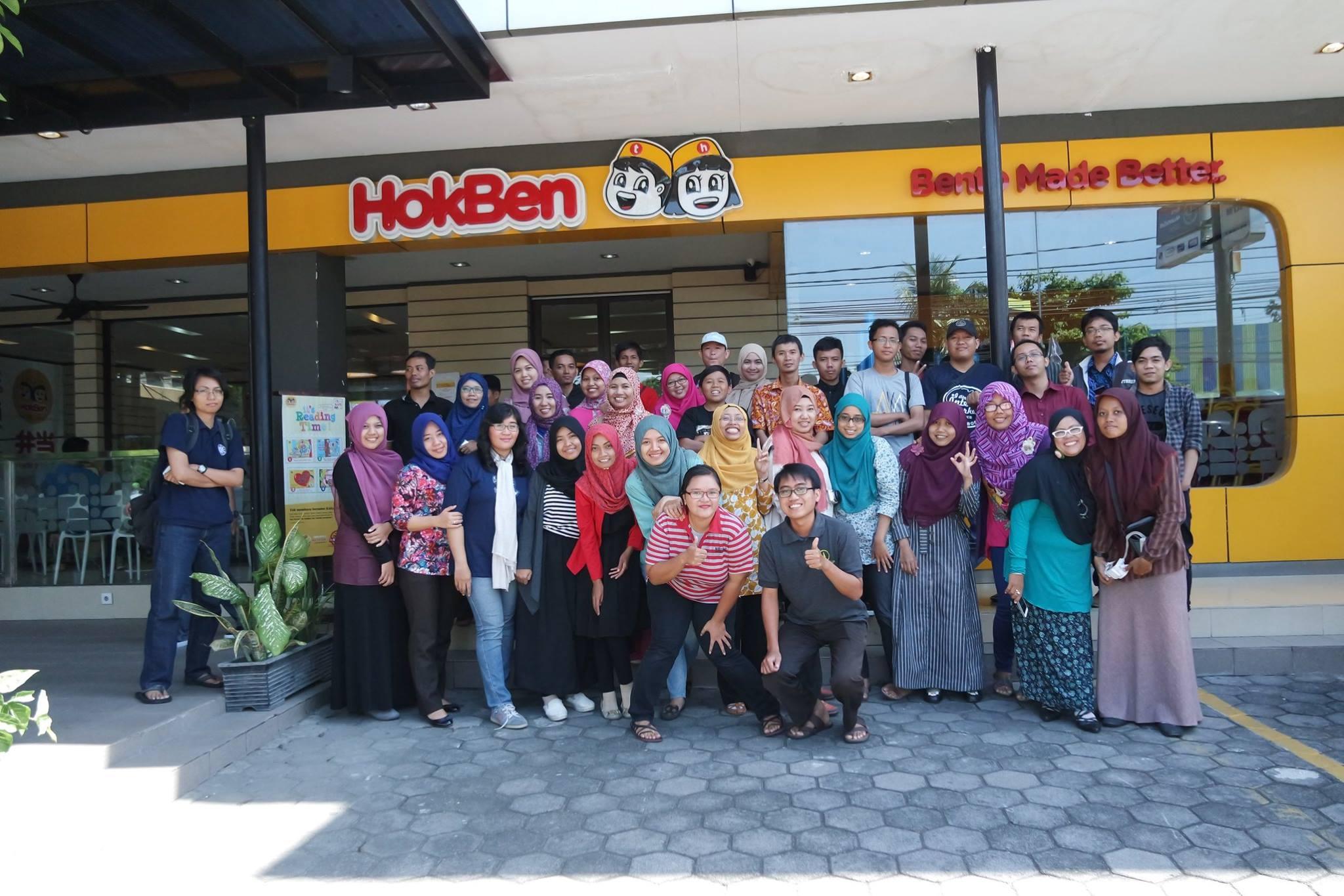 KBJ Mengunjungi Hokben Restoran Halal