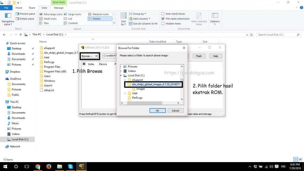 Cara Flash Redmi 3 Pro Dengan MiFlash