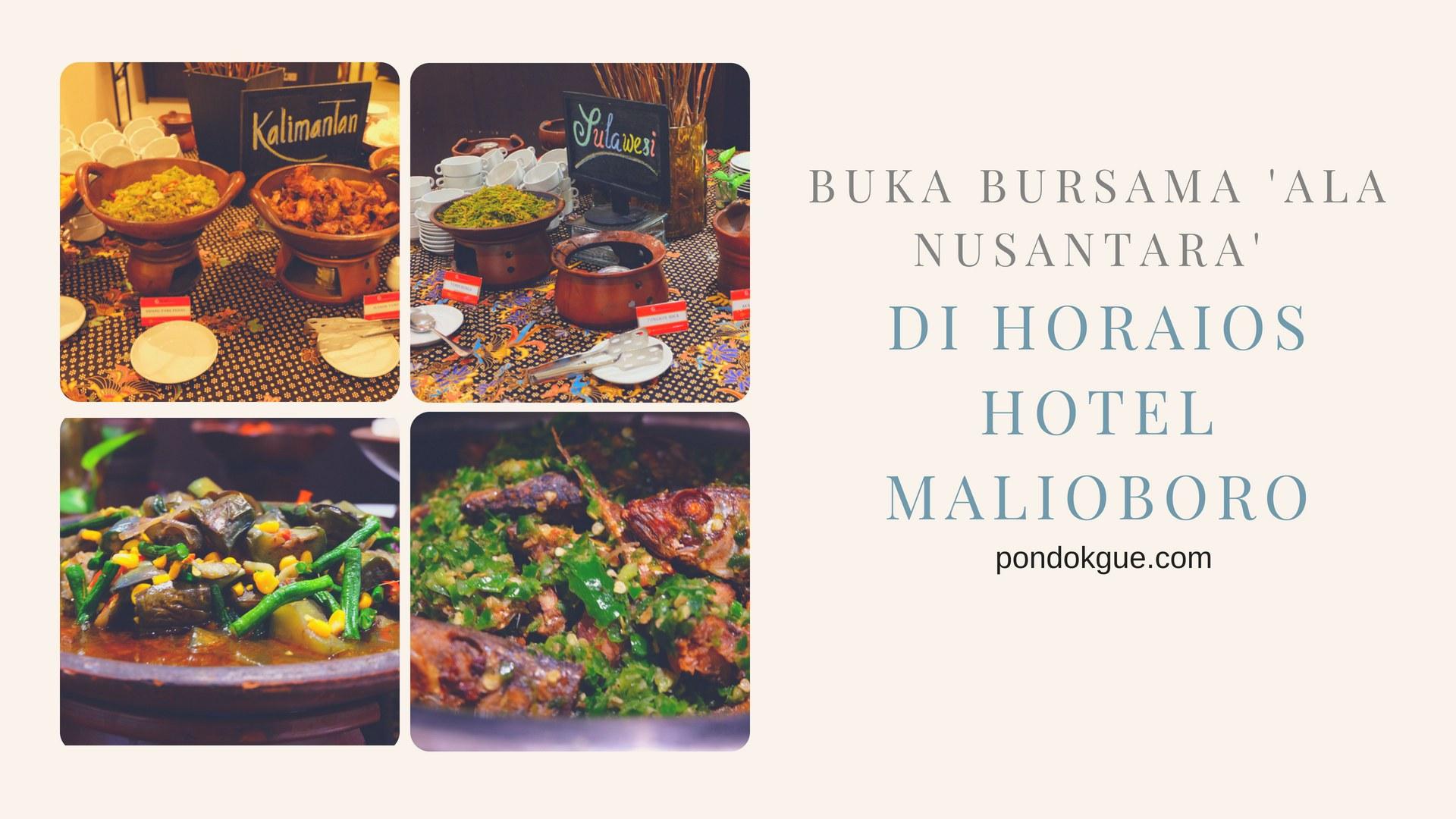 Buka Bursama 'Ala Nusantara' di Horaios Hotel Malioboro