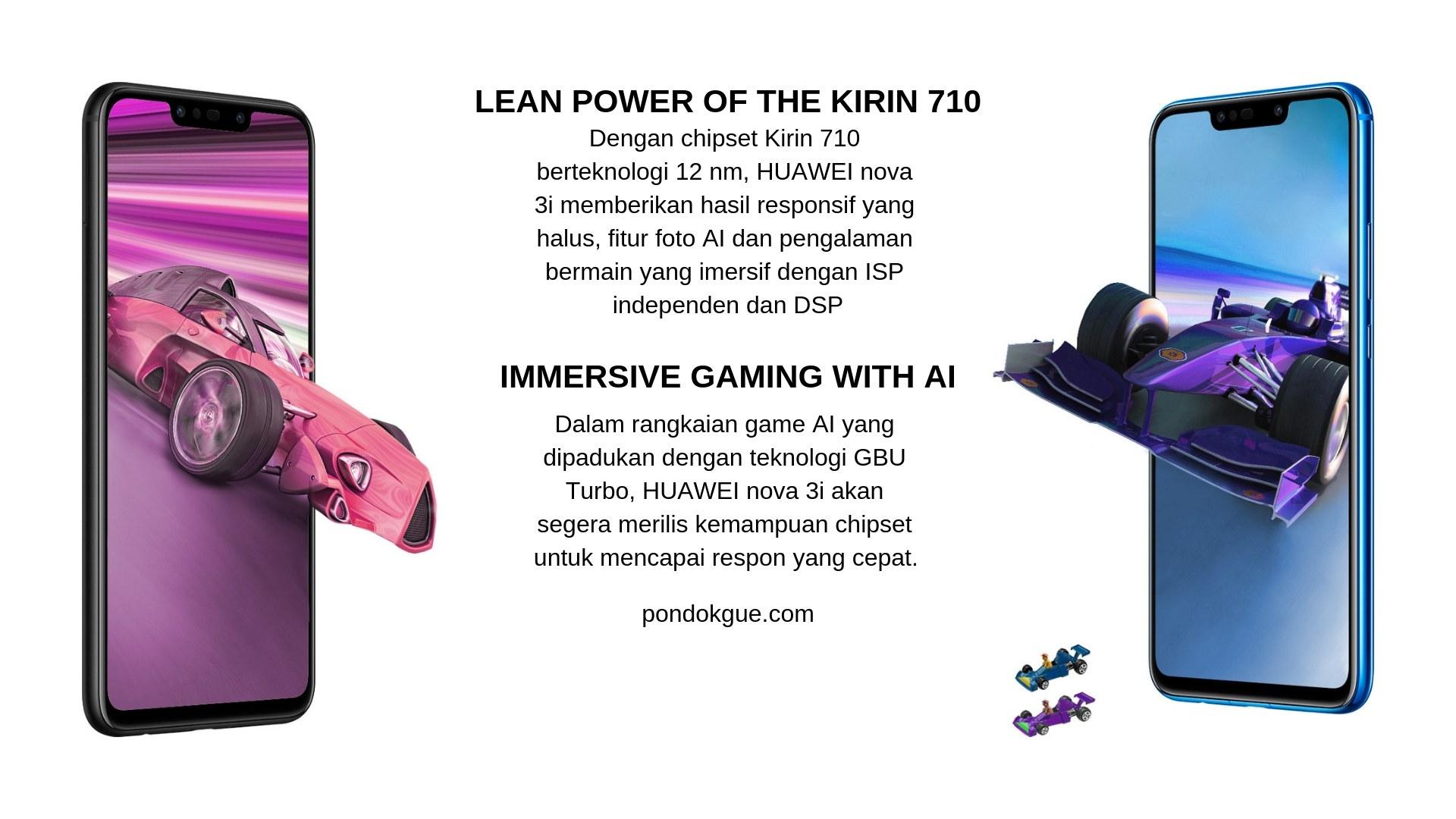 GPU Turbo - Huawei Nova 3i