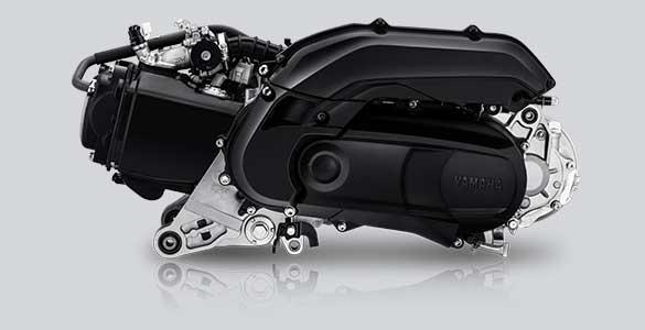 Blue Core Engine 125 CC Yamaha Freego S  | Image Source: Website Resmi Yamaha