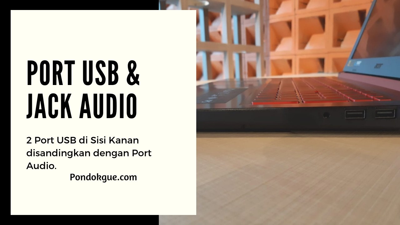 Port USB & Jack Audio
