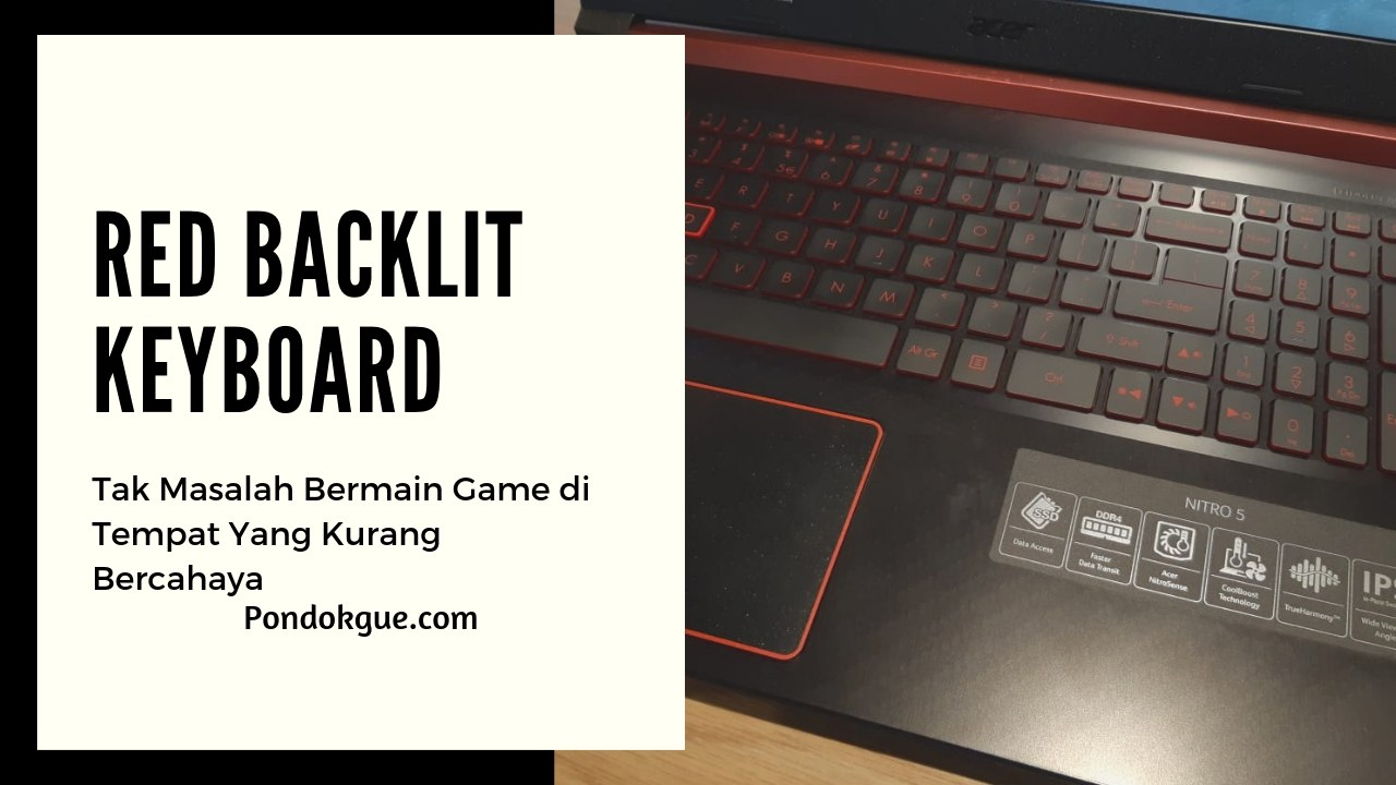 Red Backlit Keyboard