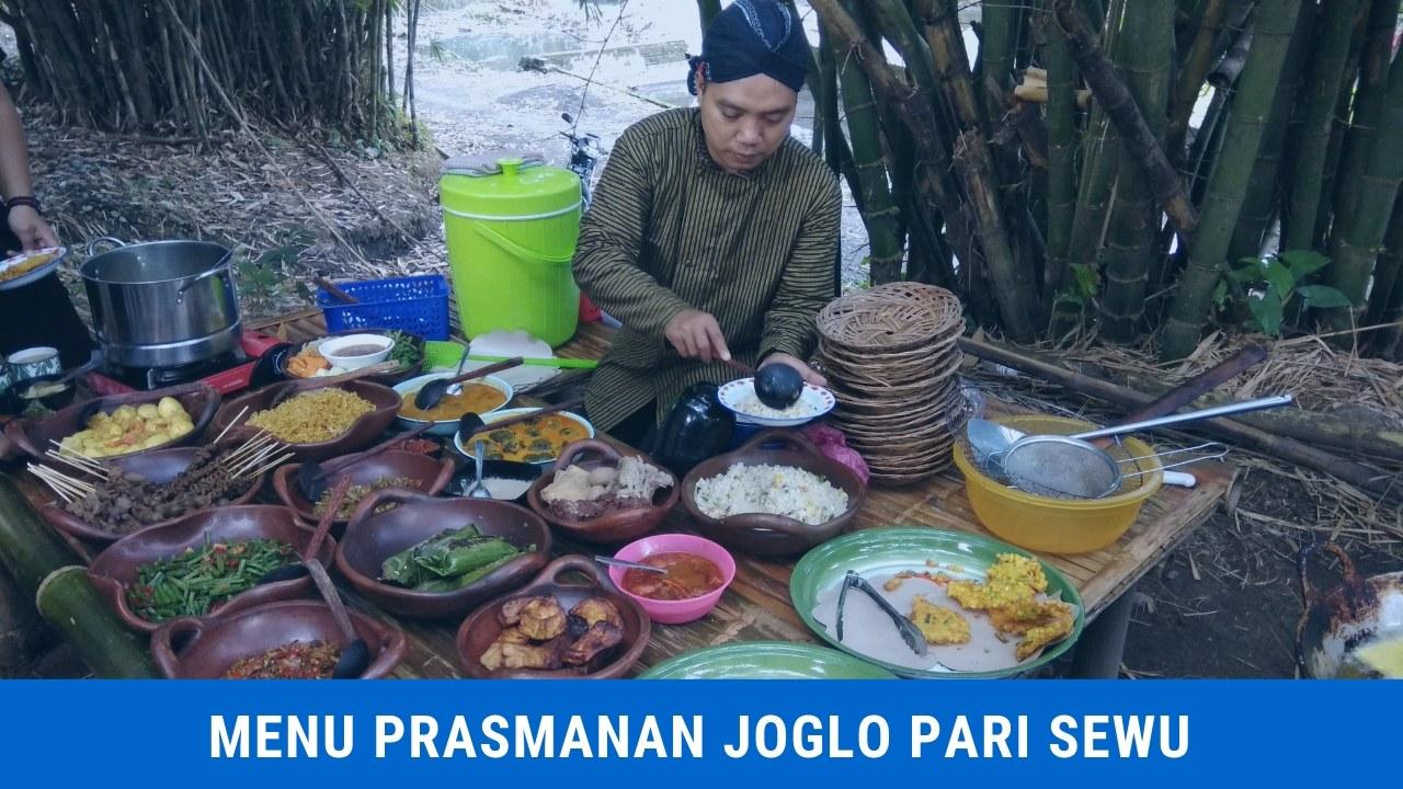 Menu Prasmanan All You Can Eat di Joglo Pari Sewu
