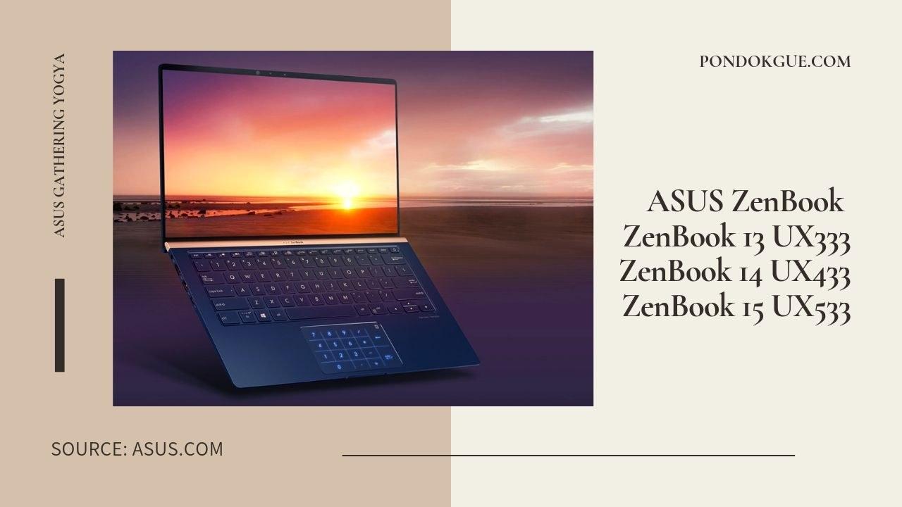 ASUS ZenBook 13 14 15