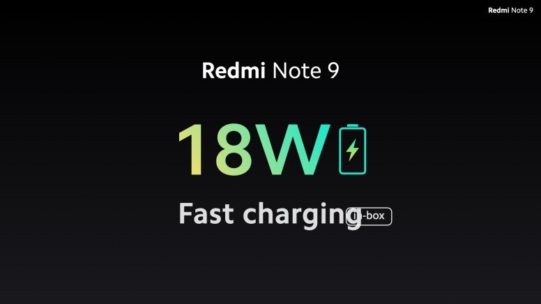 Fast Charging Redmi Note 9