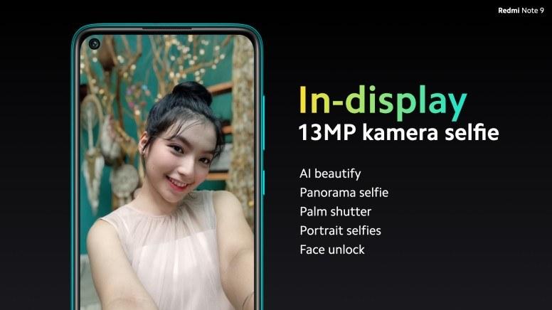 Fitur Kamera Depan Redmi Note 9