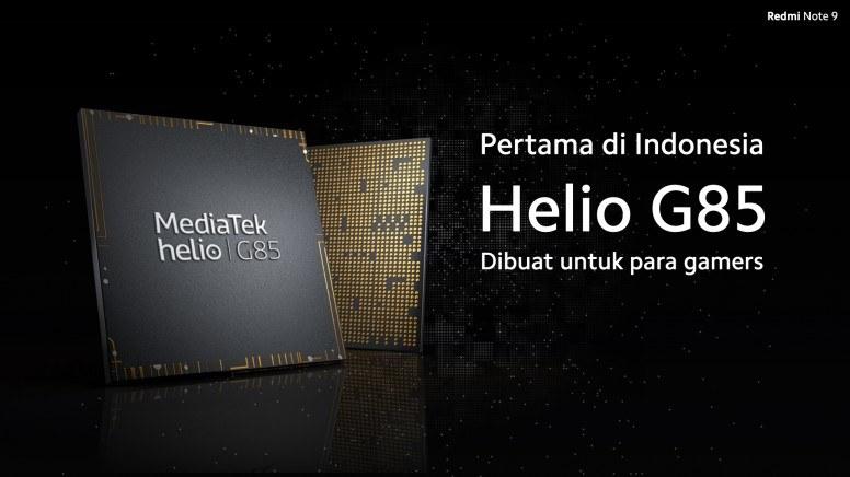 Mediatek Helio G85 Prosesor Redmi Note 9
