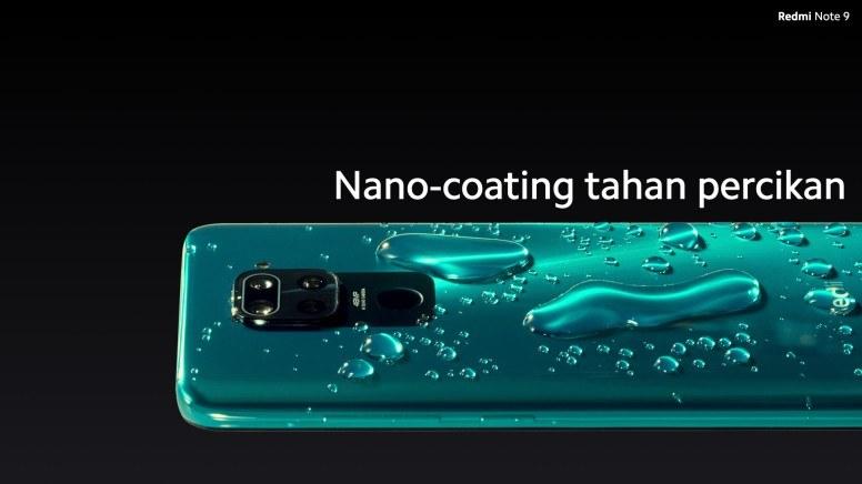 Nano Coating Pada Redmi Note 9