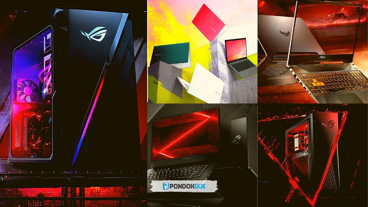 5 Seri Produk ASUS Dengan Processor AMD Ryzen 4000